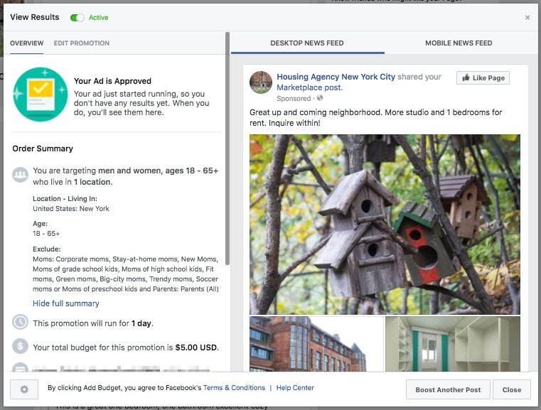 Facebook (Still) Letting Housing Advertisers Exclude Users