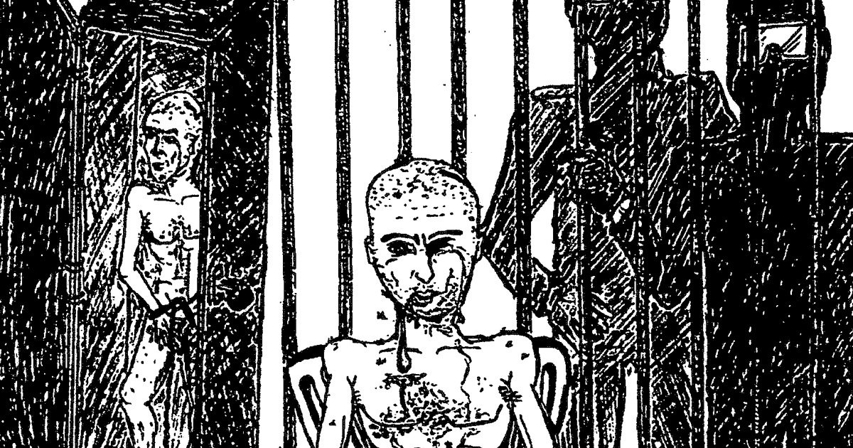Pictures From An Interrogation Drawings By Abu Zubaydah -1200