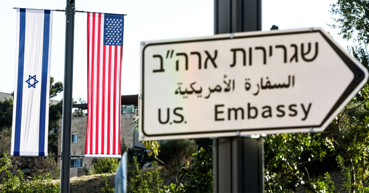 Top Official at U S  Embassy in Israel Is Owed Money From Israel