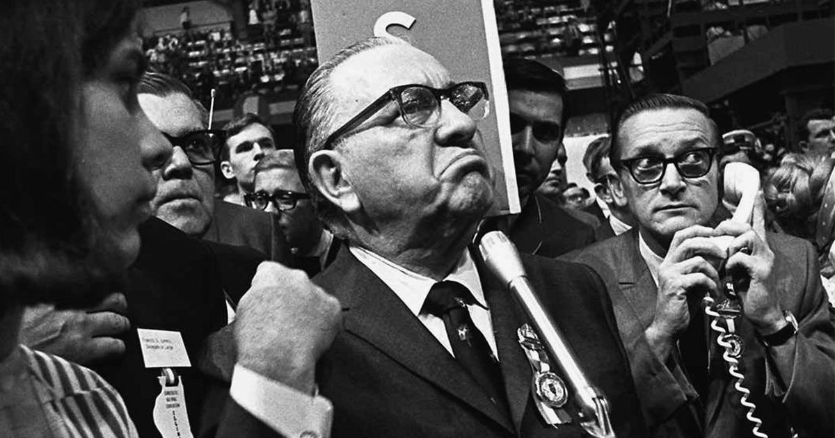 Protests And Blaming The Media Sound Familiar That Was During 68 Democratic National Convention