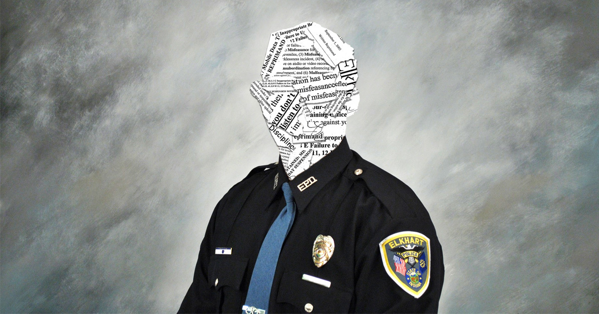 Nearly All the Officers in Charge of an Indiana Police Department