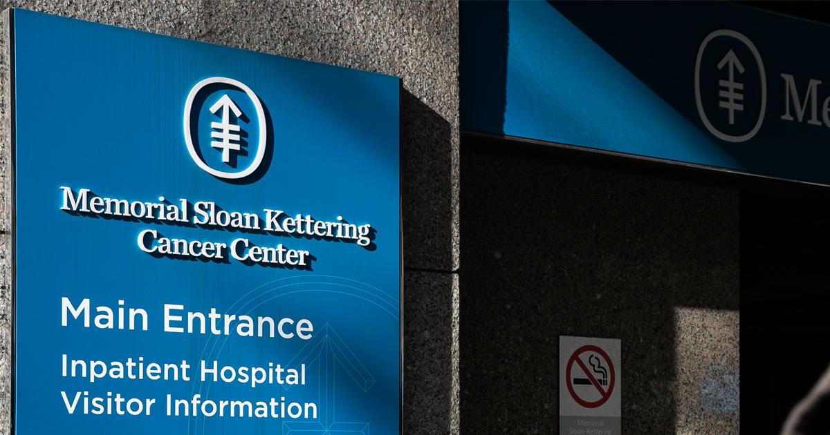 Memorial Sloan Kettering Curbs Executives' Ties to Industry