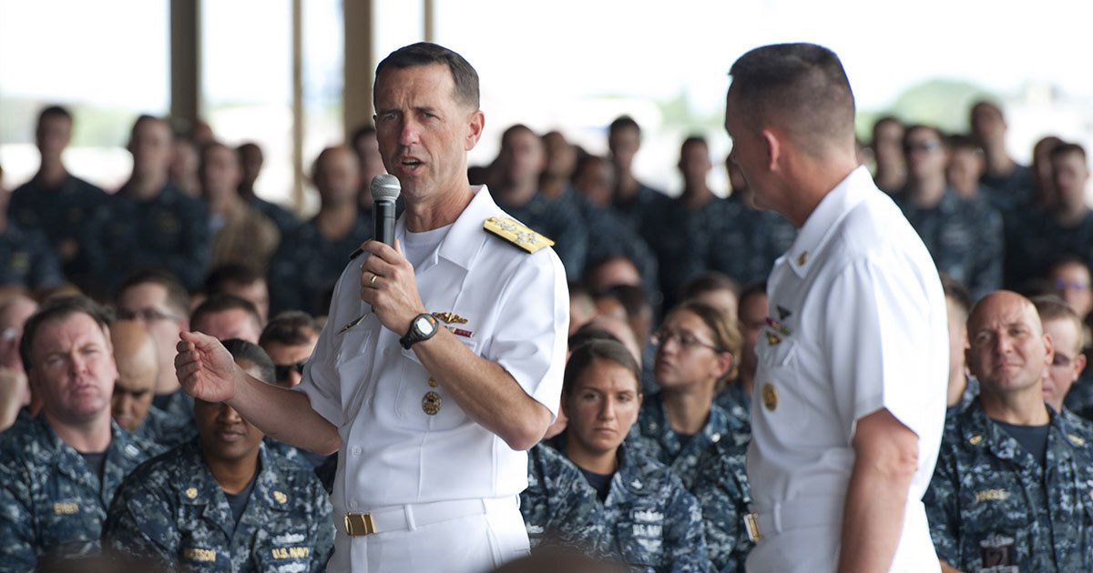 How The Navy S Top Commander Botched The Highest Profile