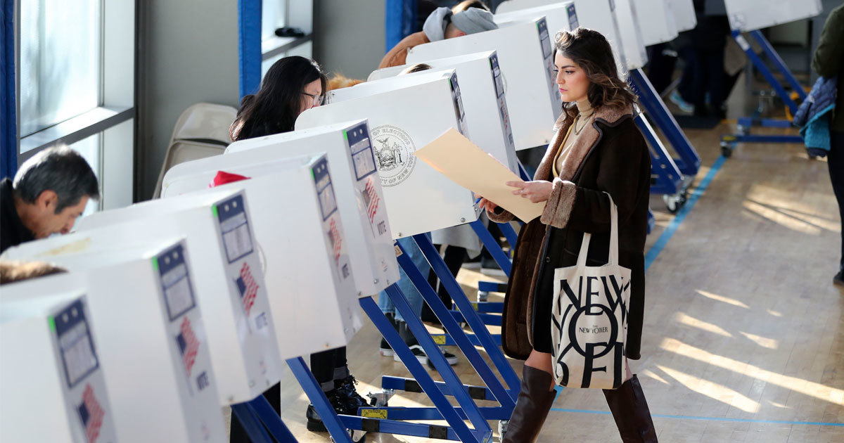 New York City's Early Voting Plan Will Favor White, Affluent Voters, Advocacy Groups Say