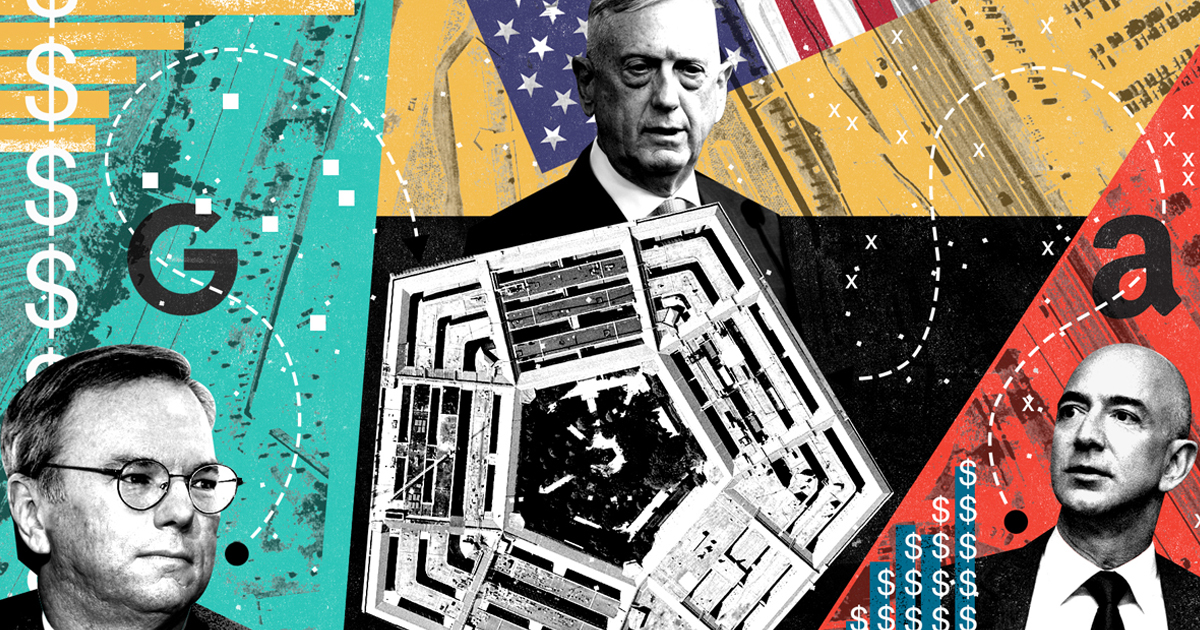 How Amazon and Silicon Valley Seduced the Pentagon — ProPublica