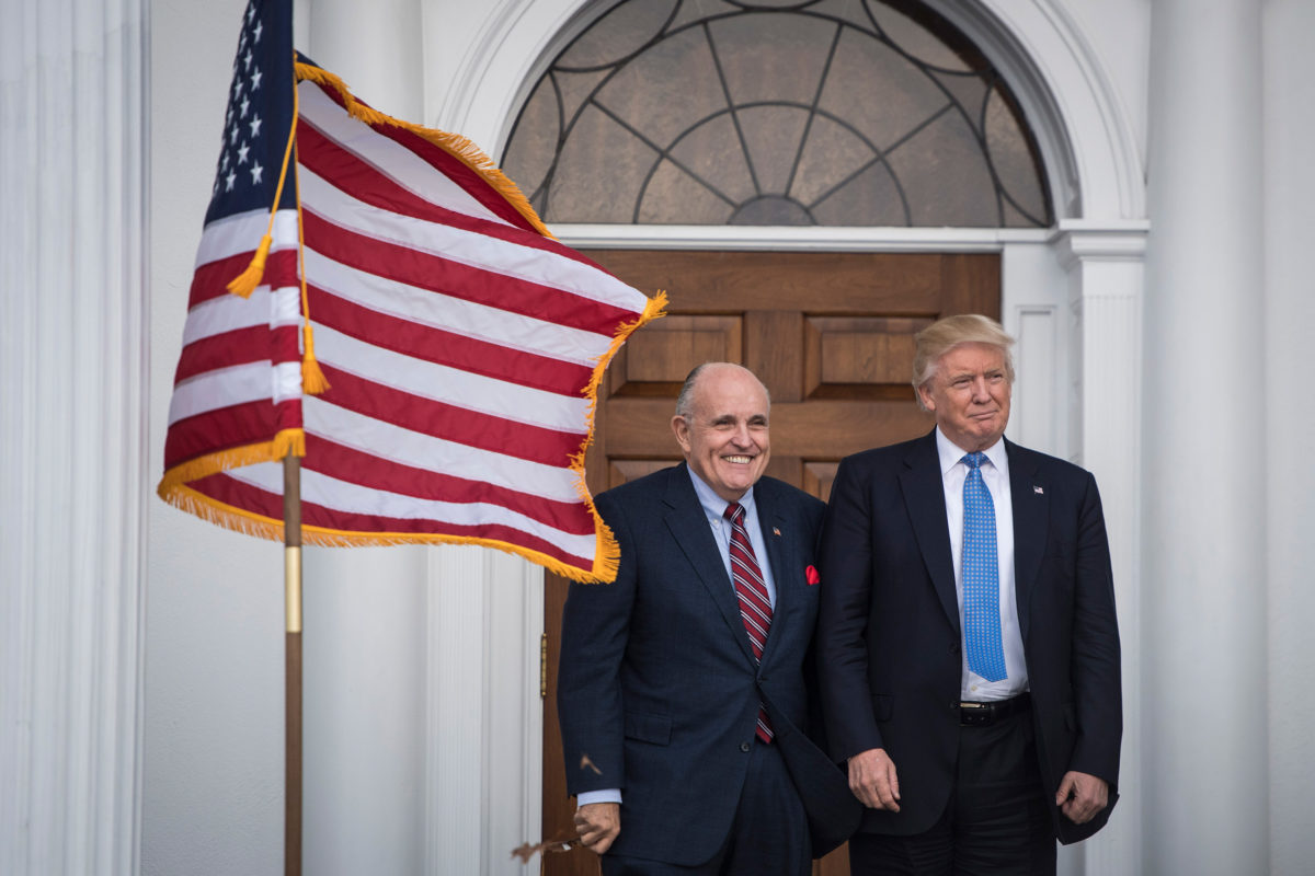 Rudy Giuliani has often traveled to Russia or other former Soviet states, since trump's election, he appears to have stepped up frequency of those trips