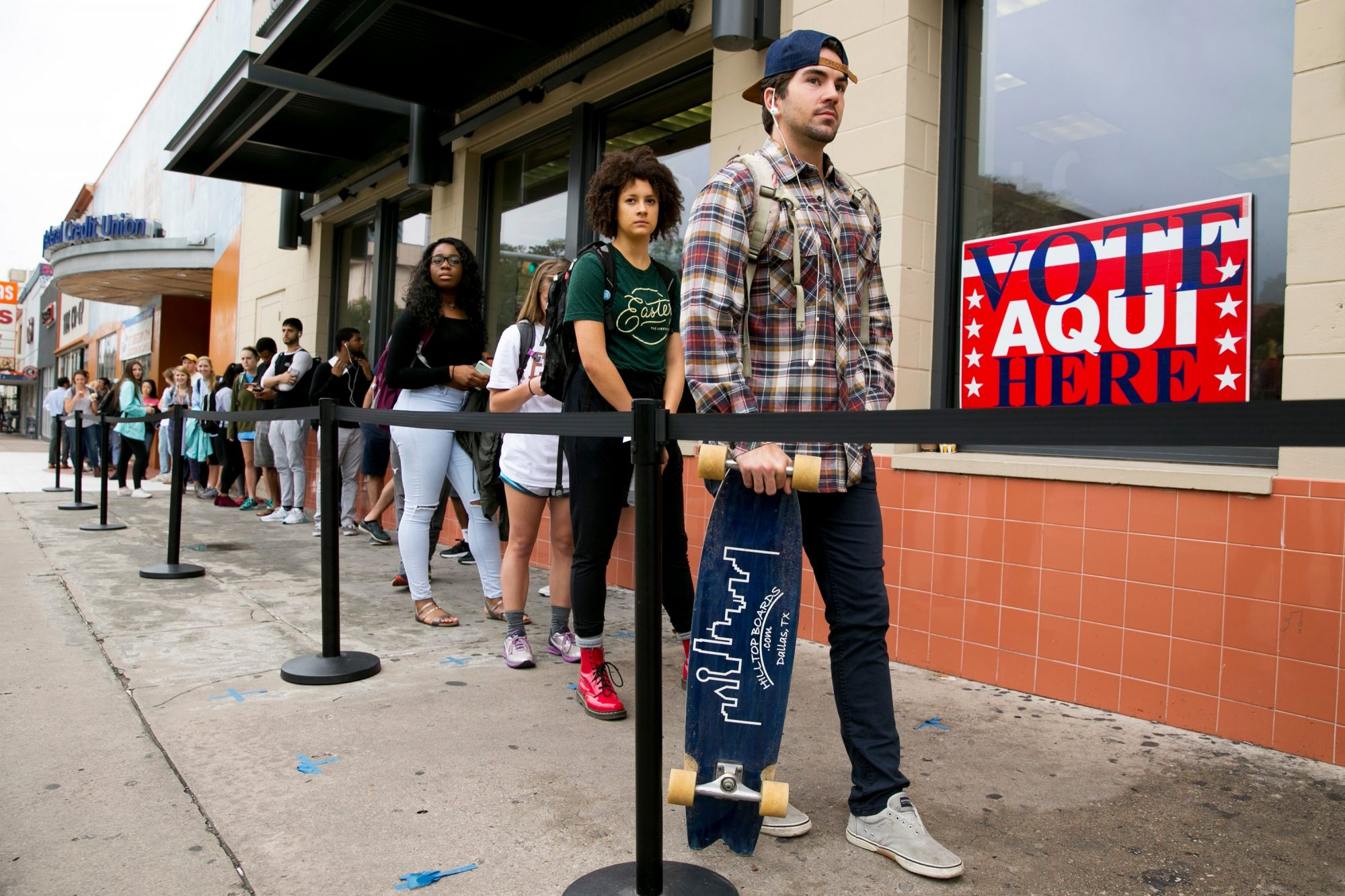 Voter Registration Around Austin Smashed Records. That May Be a Problem.