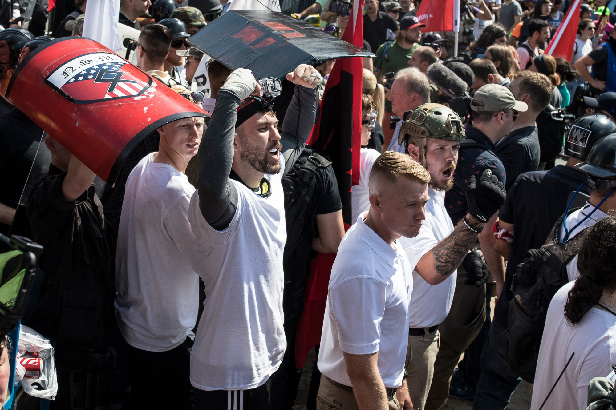 Once Defiant, All Four White Supremacists Charged in Charlottesville Violence Plead Guilty