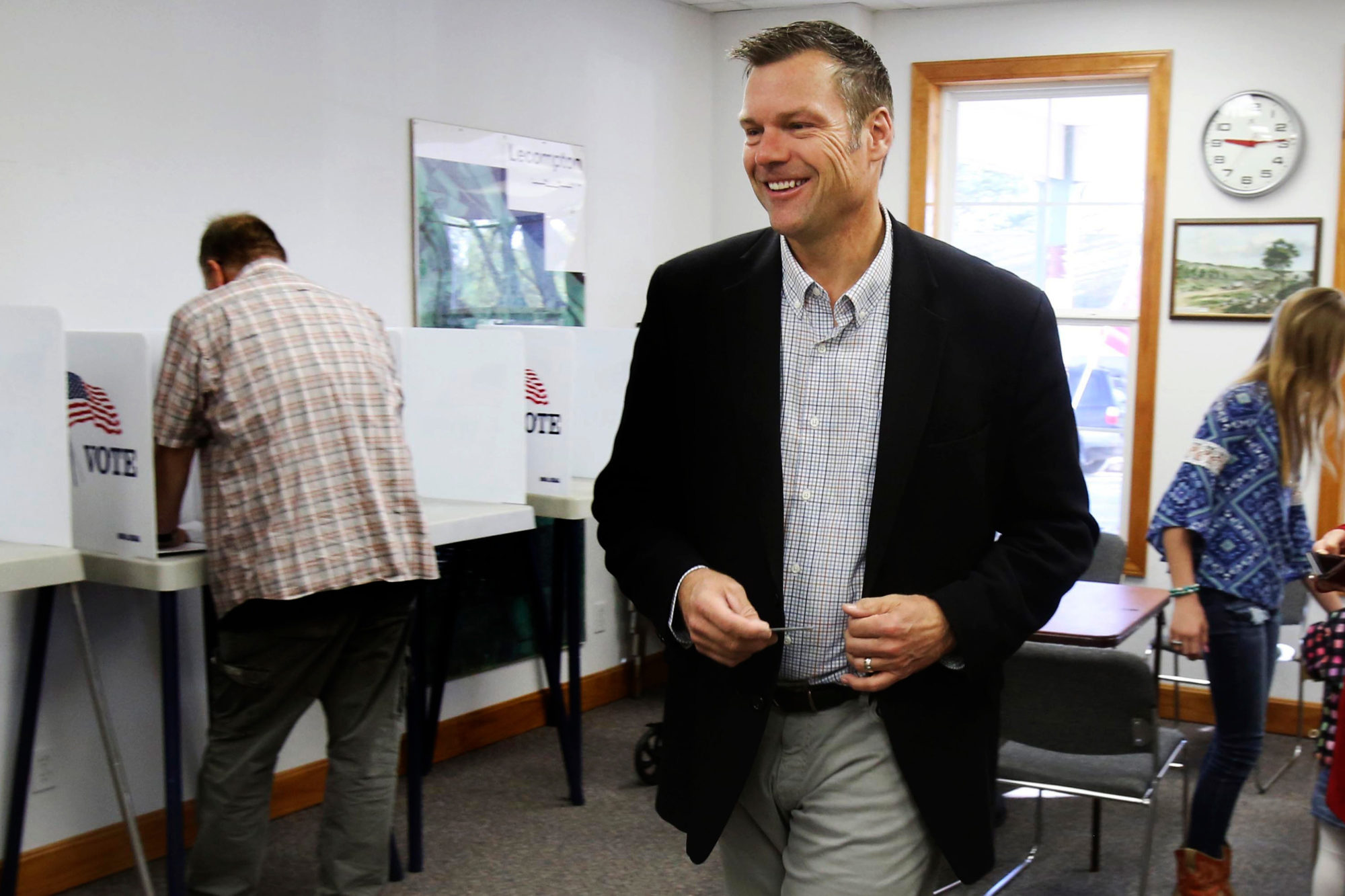Kansas Abandons Technology Trumpeted by Kris Kobach, Trump's Onetime Voter Fraud Czar