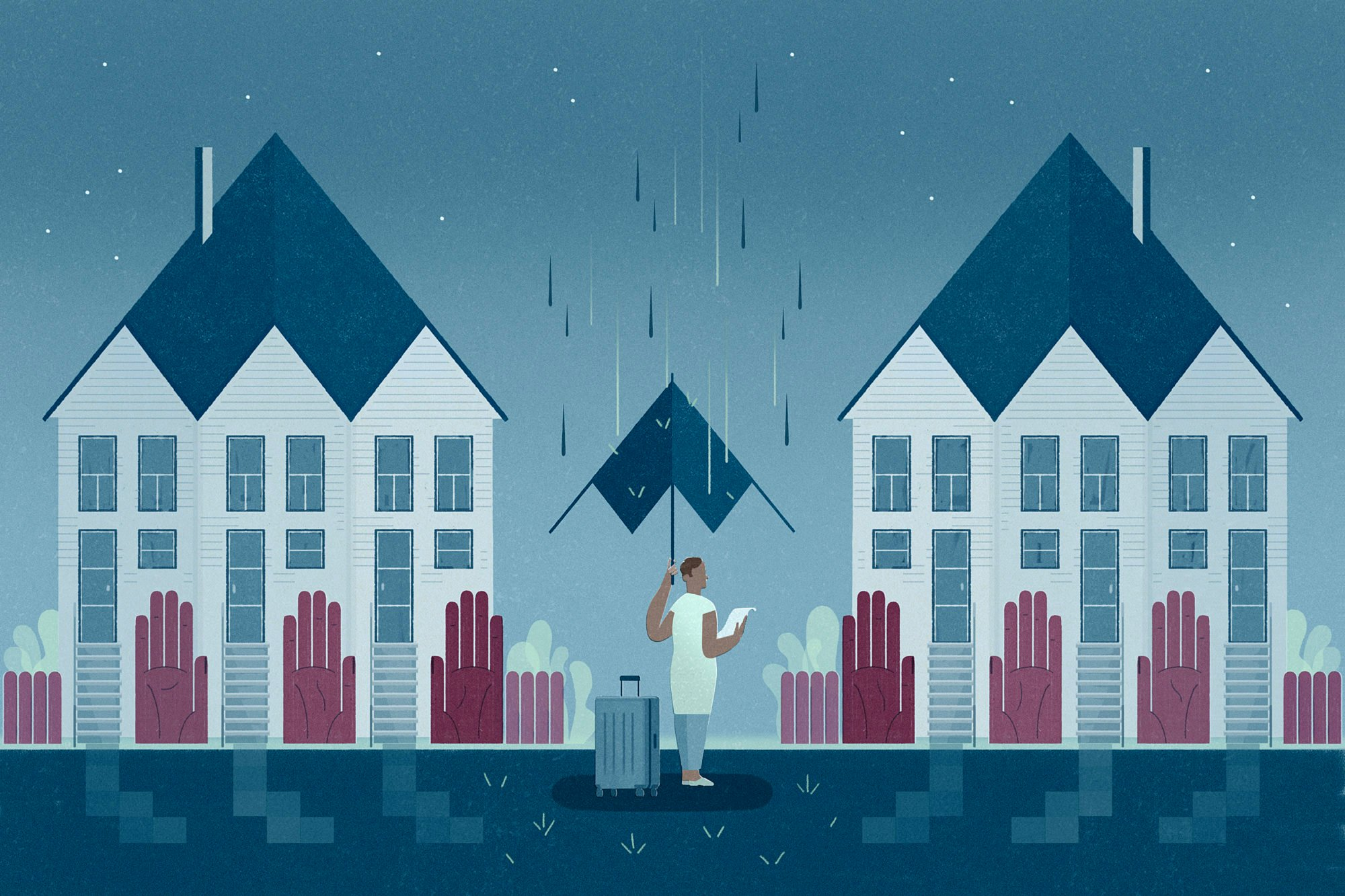How Wealthy Towns Keep People With Housing Vouchers Out