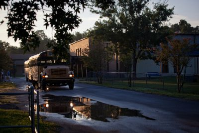 The Orange Park Performing Arts Academy in Orange Park, Florida, on August  15, 2017, the day it opened as a private school. It was previously a public  ...