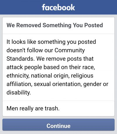 Facebook's Uneven Enforcement of Hate Speech Rules Allows