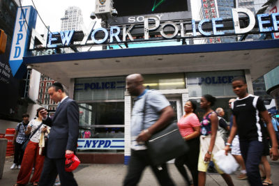 in new york crime falls along with police stops