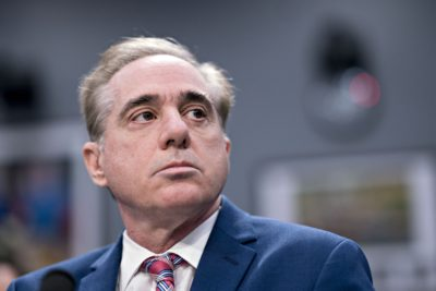 David Shulkin, Former Secretary Of The Department Of Veterans Affairs,  Waits To Begin A House Appropriations Subcommittee Hearing In Washington,  D.C., ...