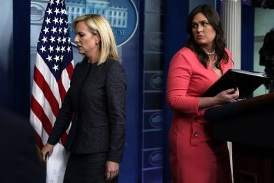 Trump Blames Democrats While DHS Chief Defends Family Separation