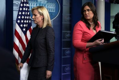 DHS Secretary Kirstjen Nielsen Defends Separation Of Families At The Border