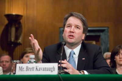 Brett Kavanaugh testifies during a second Senate Judiciary confirmation hearing