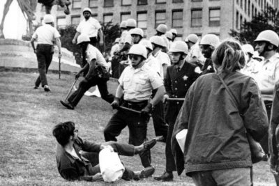 26 1968 File Photo Chicago Police Officers Confront A Demonstrator On The Ground At Grant Park In During Citys Hosting Of Democratic