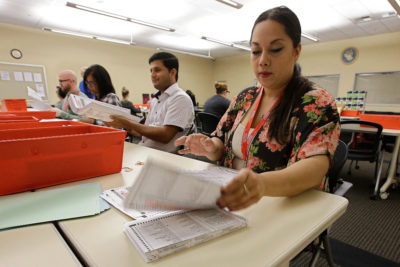 Handwriting Disputes Cause Headaches for Some Absentee ...