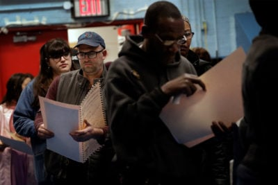 Aging Machines, Crowds, Humidity: Problems at the Polls Were Mundane but Widespread