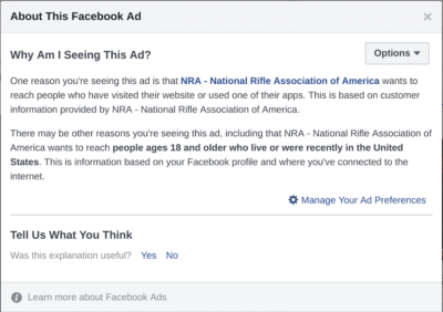 Facebook Moves to Block Ad Transparency Tools — Including