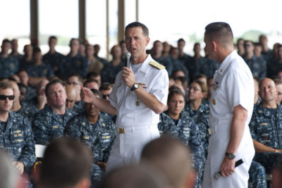 How the Navy's Top Commander Botched the Highest-Profile