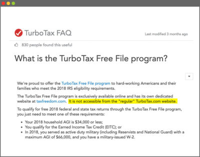 Here's How TurboTax Just Tricked You Into Paying to File