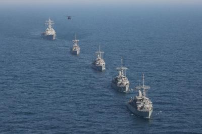 Iran Has Hundreds of Naval Mines  U S  Navy Minesweepers