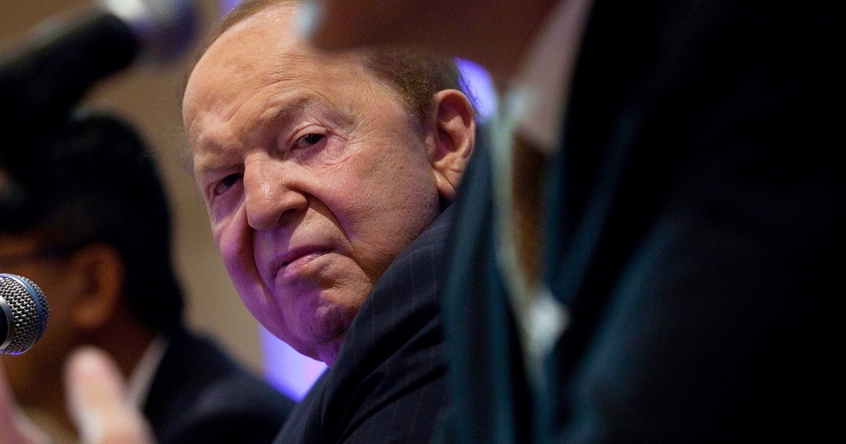 Trump's Patron-in-Chief: Casino Magnate Sheldon Adelson