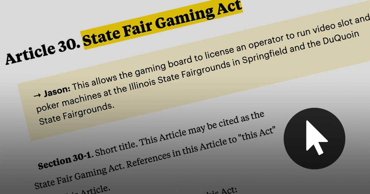 Anatomy of the Gambling Bill | ProPublica