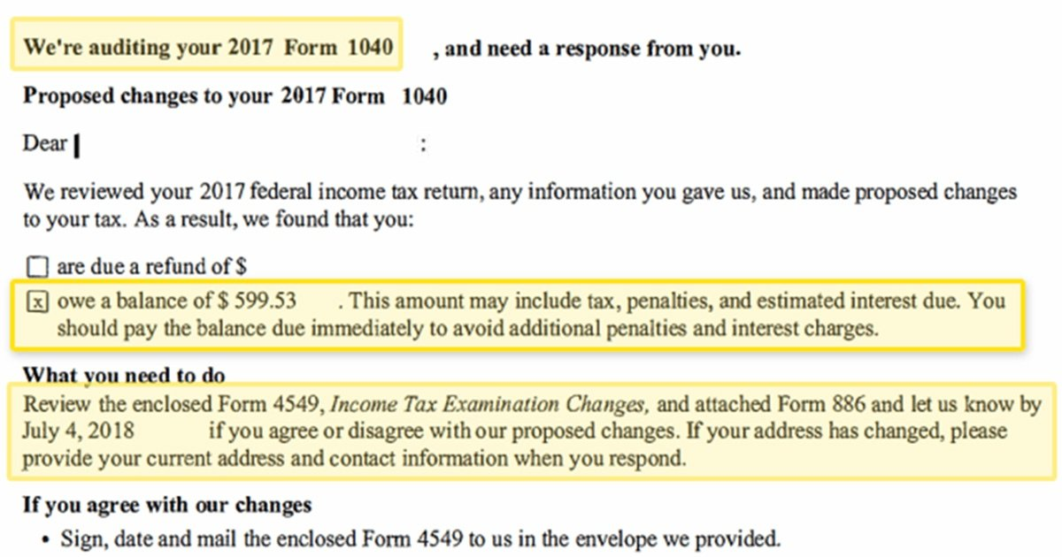 You Don't Earn Much and You're Being Audited by the IRS  Now