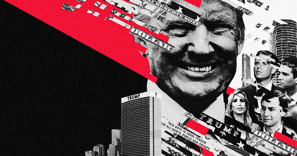 Trump, Inc. He's the president, yet we're still trying to answer basic questions about how his business works: what deals are happening, whom they're happening with, and if the president and his family are keeping their promise to separate the Trump Organization from