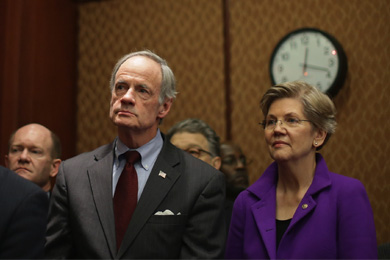 Warren and Carper question Kuschner's conflicts