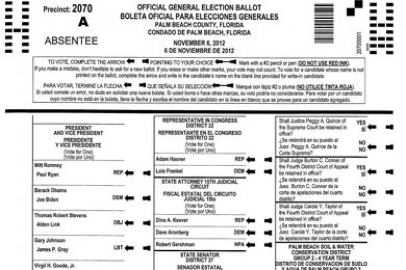 The Ballots Country Most Propublica Confusing In Of — Five