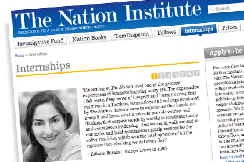 Nation Institute to Pay Interns Minimum Wage — ProPublica