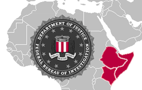 The FBI allegedly detained and mistreated an American, Amir Meshal, who was held in Kenya, Somalia and Ethopia, according to an ACLU lawsuit.