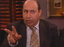 Hamid Alkifaey, a former politician and journalist, was hired in 2007 to take over Alhurra's Iraq stream. (Photo courtesy of 60 Minutes)