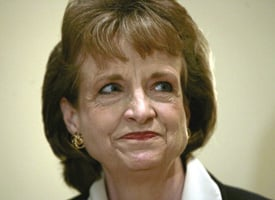 Harriet Miers (Credit: Charles Dharapak/AP Photo)