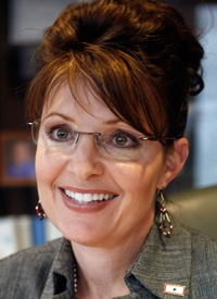 GOP VP Pick Sarah Palin (Credit: Al Grillo/AP Photo)