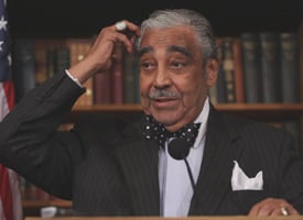Rep. Charlie Rangel (Credit: Lauren Victoria Burke/AP Photo)