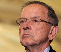 Sen. Ted Stevens (R-AK) is now behind in the vote count in his Senate race