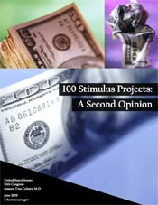 Sen. Tom Coburn put out a report criticizing 100 stimulus projects. The Obama administration responded with its own report.
