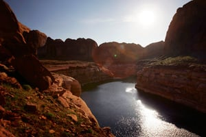 Lake Powell, the Colorado's River largest reservoir (David McNew/Getty Images)