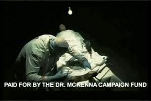 Click here to see the craziest campaign ad ever currently being viewed on local TV in New Orleans. (From YouTube)