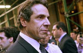 NY Attorney General Andrew Cuomo announced the arrest of another figure in the pay-to-play scandal surrounding the state pension system. (Getty file photo)