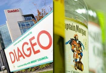 London-based Diageo is the largest liquor company in the world. (Toby Melville / Reuters, Alfonso Surroca)