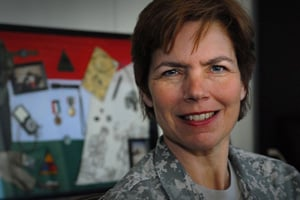 Brig. Gen. Loree Sutton (Photo by Fred W. Baker III)