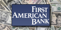 Illinois' First American Bank Corporation received the largest recent infusion of bailout funds totaling $50 million.