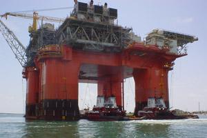 BP's Atlantis heads to the Gulf in August 2006. (Flickr user: munchicken)