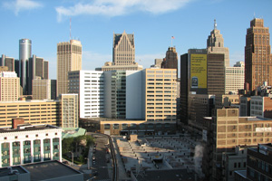 Downtown Detroit (Flickr User: ifmuth)